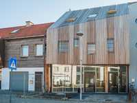 Particuliere woning, De Pinte - FSC Thermo Fraké hout - © Marble Moon